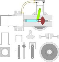 Чертежи двигателя УДС-1