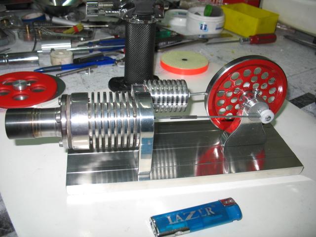 Модель двигателя стирлинга как сделать 133