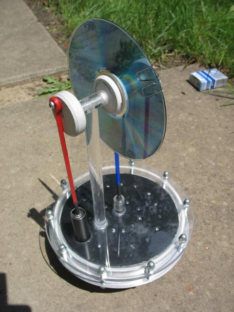 Солнечный двигатель Стирлинга